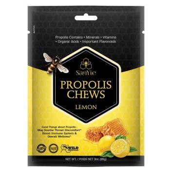 蜂之宝 - 柠檬味蜂胶姜糖3oz